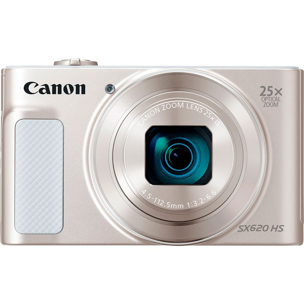 Canon powershot sx620hs blanco cámara compacta 20.2mp full hd 25x gran angular digic4+ wifi nfc