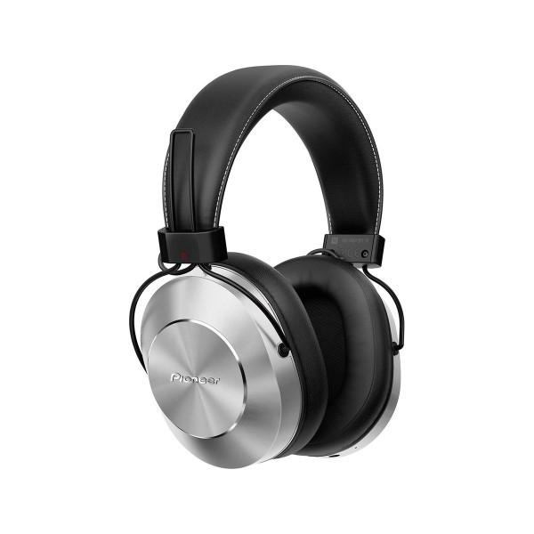 Pioneer se-ms7bt plata auriculares inalámbricos audio de alta calidad con micrófono bluetooth nfc power bass