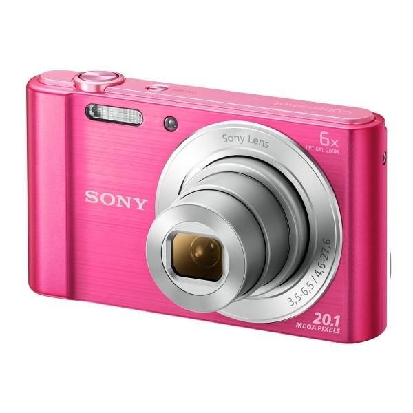 Sony dsc-w810 rosa cámara de fotos compacta 20.1 mp zoom 6x