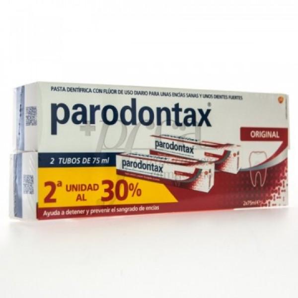 PARODONTAX ORIGINAL FLUOR 2X 75ML PROMO