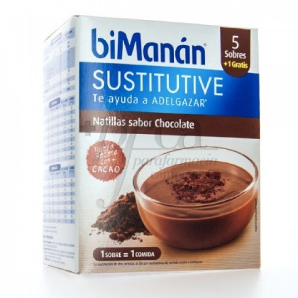 BIMANAN NATILLAS DE CHOCOLATE  5+1 UDS