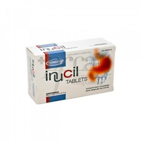 INUCIL TABLETS 30 COMPS SORIA