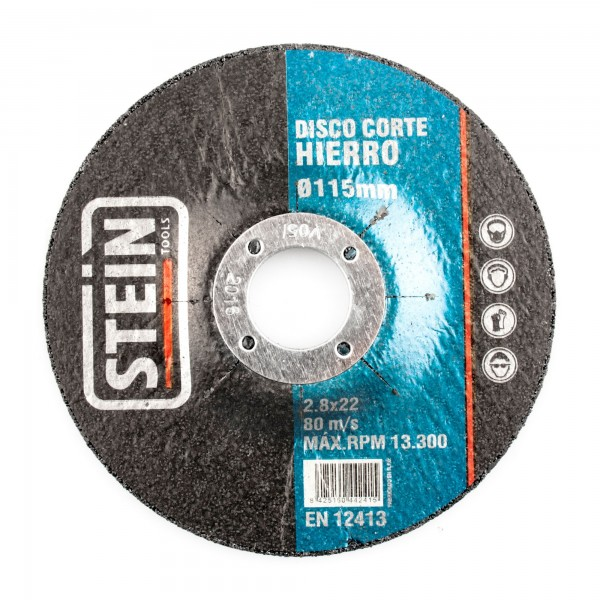 Disco stein cortar hierro 230 mm.