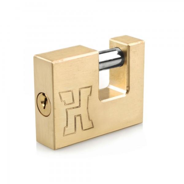 Candado laton tipo u handlock 90 mm.