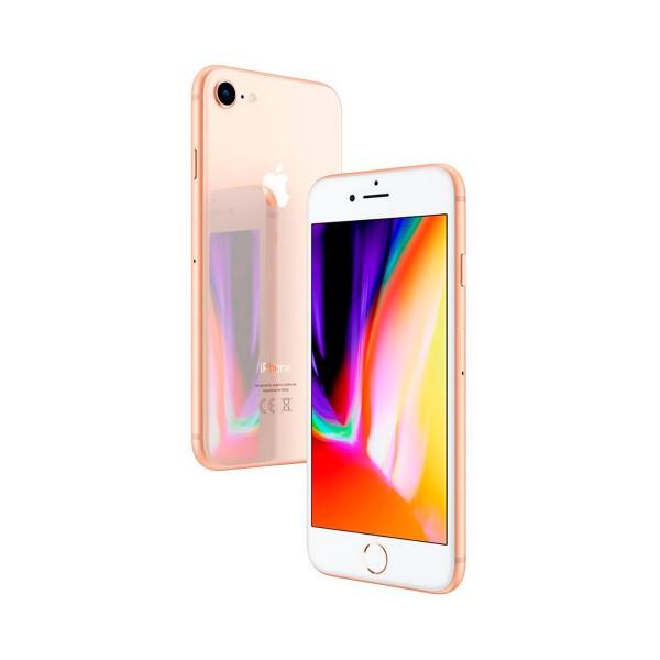 Apple iphone 8 64gb oro reacondicionado cpo móvil 4g 4.7'' retina hd/6core/64gb/2gb ram/12mp/7mp