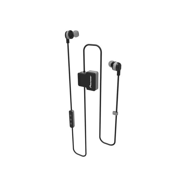 Pioneer se-cl5bt gris auriculares inalámbricos bluetooth diseño en clip con micrófono ipx4