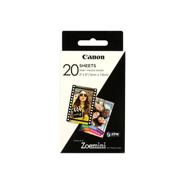 Canon zp-2030 papel fotográfico (20) impresora zoemini 123