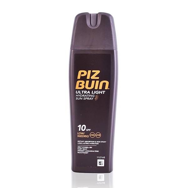 Piz buin ultra light sun spray spf10 200ml vaporizador