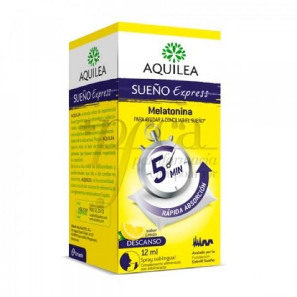 AQUILEA SUEÑO EXPRESS MELATONINA 1MG SPRAY 12ML