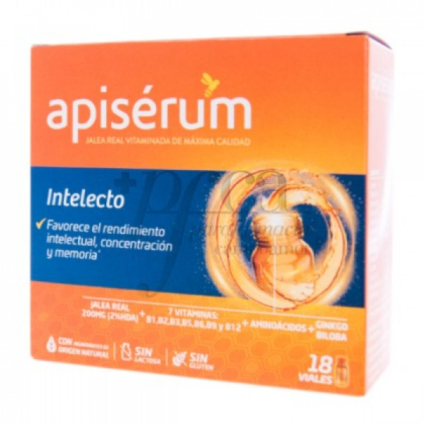 APISERUM INTELECTO 18 VIALES