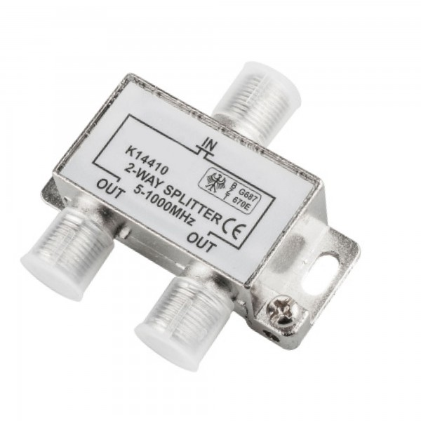 Distribuidor onlex 2 vias 5-1000 mhz