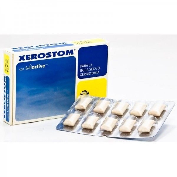 XEROSTOM BOCA SECA CHICLE XEROSTOMIA 20U