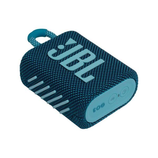Jbl go3 azul altavoz inalámbrico portátil 4.2w bluetooth impermeable