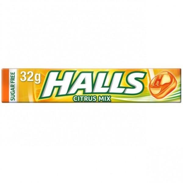 HALLS CITRUS MIX 32G