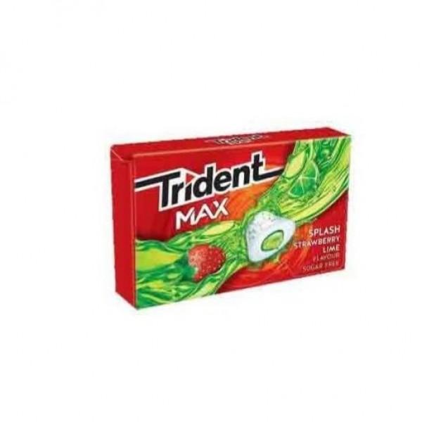 TRIDENT MAX FRESA LIMA 10 CHICLES