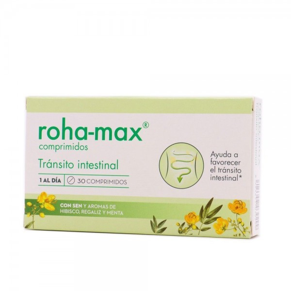 ROHA-MAX TRANSITO INTESTINAL 30 COMPS