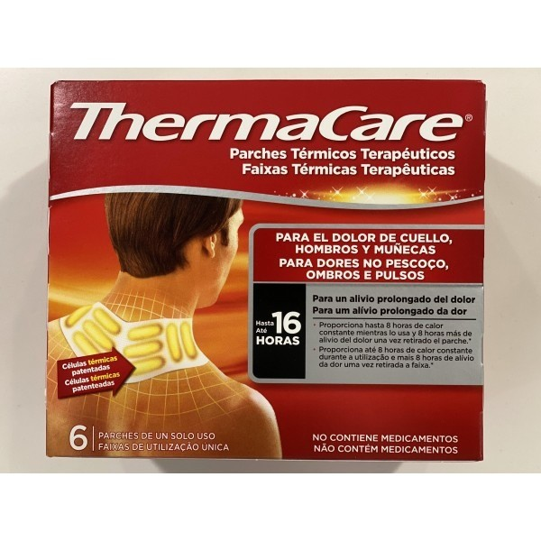 THERMACARE CUELLO-HOMBRO 6 PARCHES